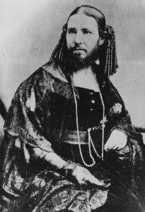 Josephine Boisdechene - The bearded lady of P T Barnum's circus