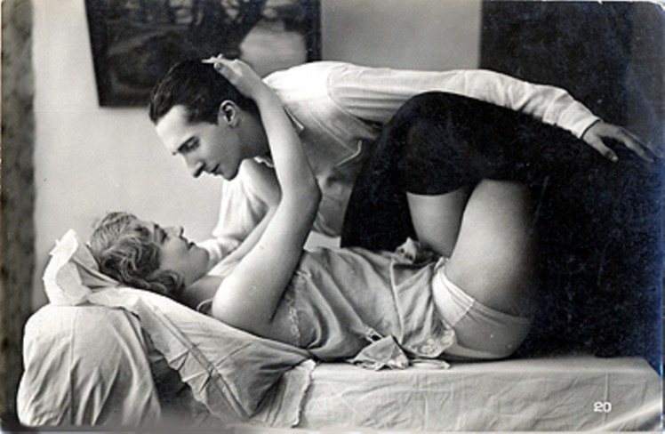 Image result for vintage couple making love